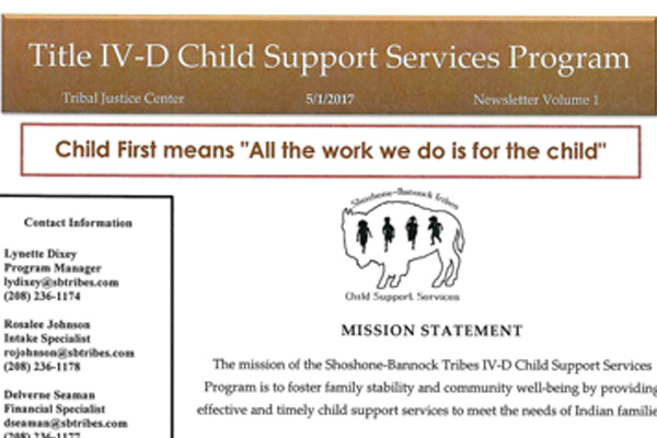 Child Support Services - may 2017
