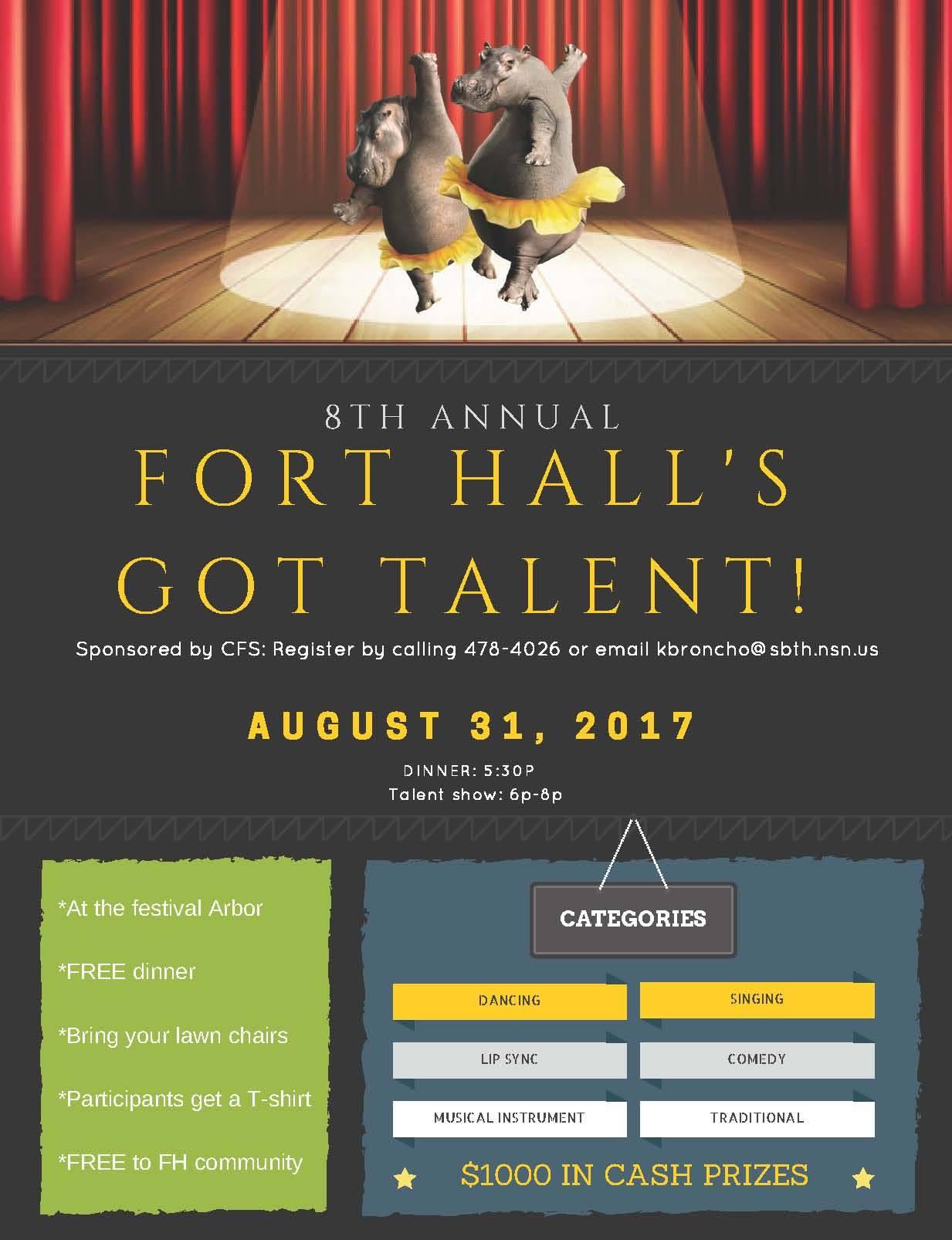 Fort Halls Got Talent 2017