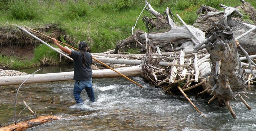Save Idaho Salmon - Bagley on the Yankee Fork