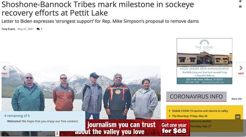 Shoshone-Bannock Tribes Save Idaho Salmon